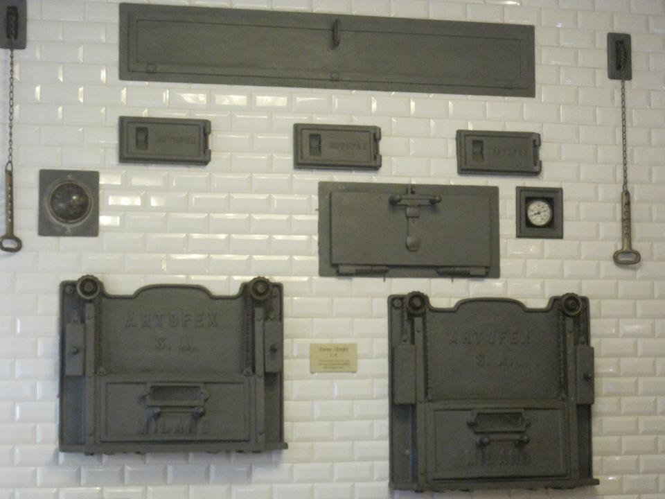 The pasticceria's original ovens
