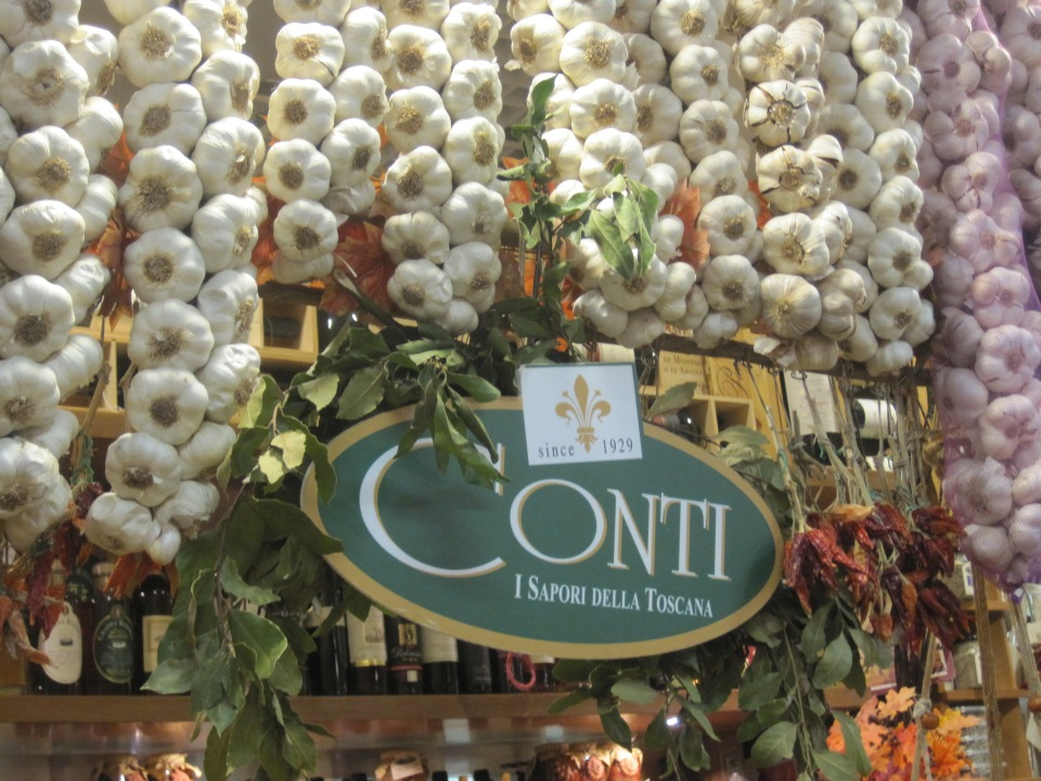 At Conti for several tastings