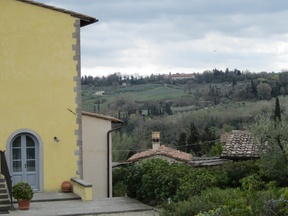 The back of the farm house at Guardastelle